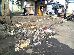 vashi market on swachh bharat day apmc vashi dirty as ever news