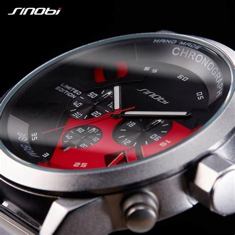 Jam Sinobi sinobi jam tangan analog pria 9680 black blue