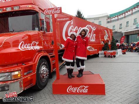 Lemari Es Coca Cola coca cola truck comes to birmingham