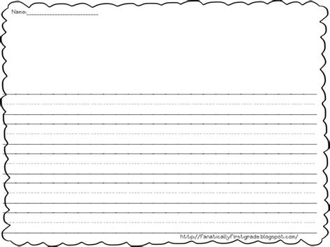grade writing paper with picture space printable writing paper with picture space 1000 images