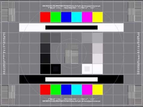 test pattern youtube test pattern with sound youtube