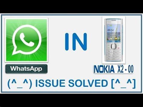 whatsapp wallpaper for nokia x2 whatsapp not working in nokia x2 nokia series 40 issue