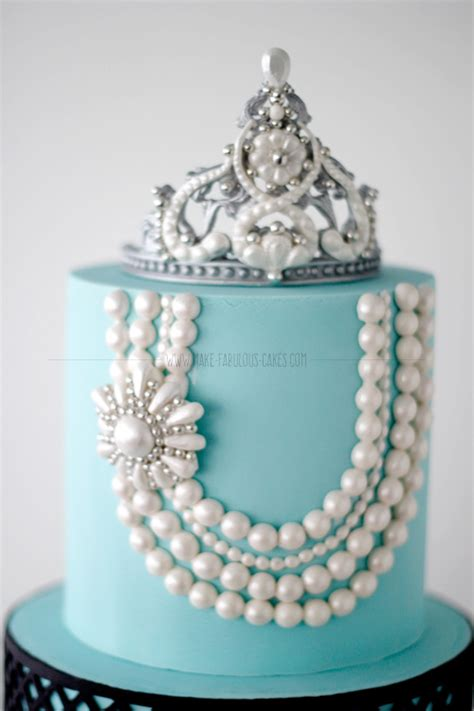 How To Make A Jewelry Mold For Silver - breakfast at tiffany s first birthday cake
