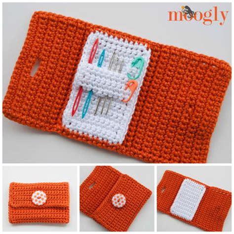 free pattern needle case nifty crochet needle case allfreecrochet com