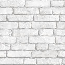 muriva white brick wall wallpaper clearance diy at b q