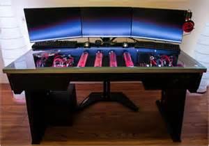 Cooling Desk by Redharbinger Cross Desk Ultimate Liquid Cooling Ready