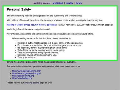 Housing Scams On Craigslist by How To Avoid Scams On Craigslist 6 Steps With Pictures