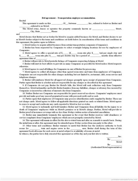 Agreement Letter For Transportation Transportation On