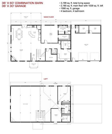 house barn combo floor plans pre designed wood barn home horse barns gambrel kits