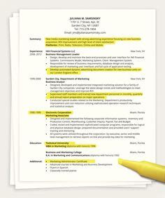 This Is An Exle Of A Value Based Resume Creating A Quot Value Based Quot Resume Pinterest Value Based Resume Template
