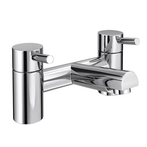 Modern Bathroom Taps Shop Our Cruze Modern Bath Taps Chrome At Plumbing Uk