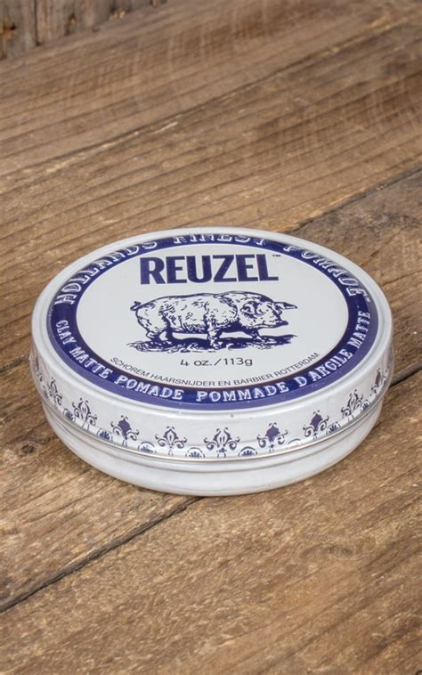 Pomade Clay reuzel pommade quot clay matte quot rockabilly
