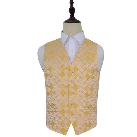 gold pattern waistcoat men s diamond sunflower gold wedding waistcoat