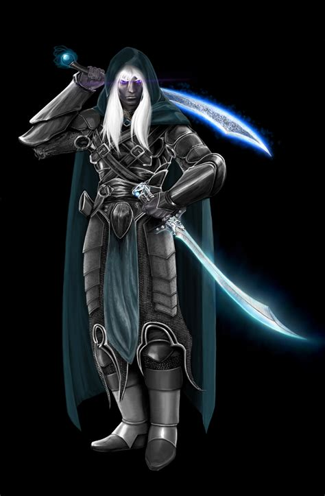 drizzt 016 hunters blades drizzt the hunter by flambo13 on
