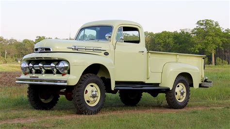 4x4 Ford by Marmon Herrington 4x4 1952 Ford F3