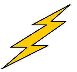 Lightning Cartoonist Small Lightning Bolt Clipart