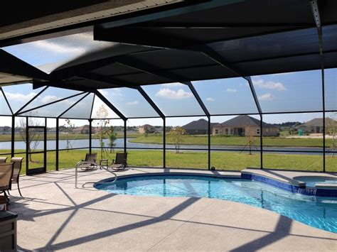 mansard roof pool enclosures encompass enclosures
