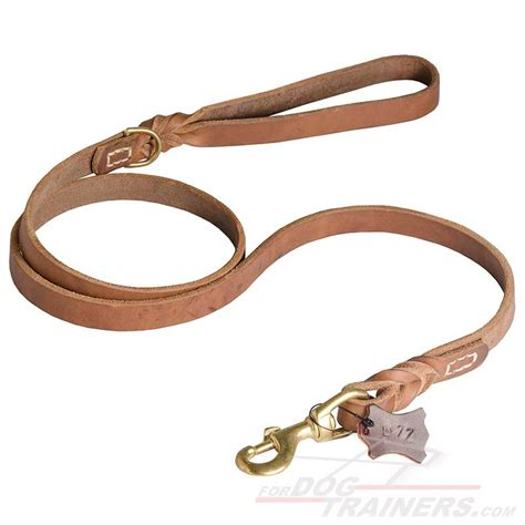 leather leash upgraded ultimate professional leather leash l77 1073 upgraded braided leather