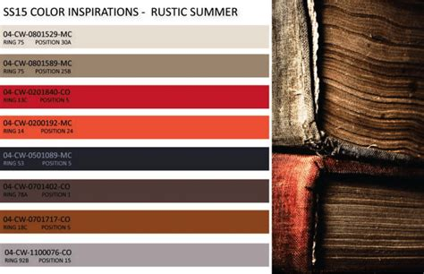 rustic color 1000 images about color trends on