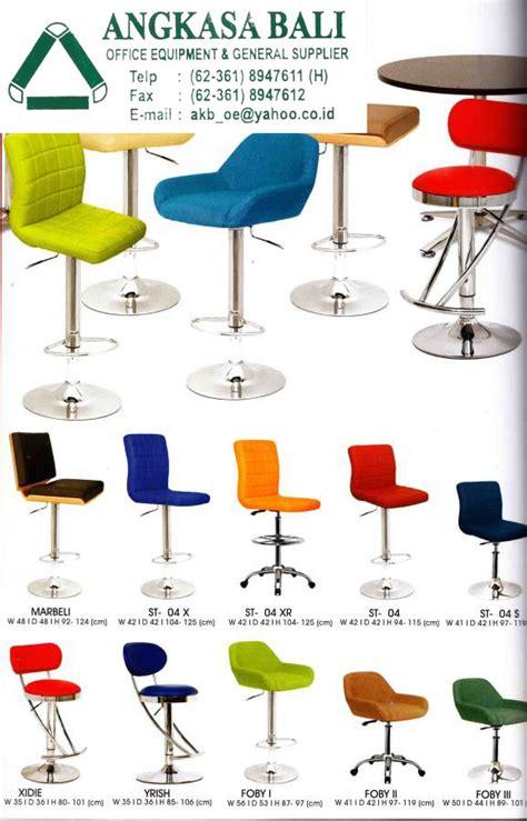 Jual Kursi Bar Indachi angkasa bali jual kursi kantor meja kerja furniture