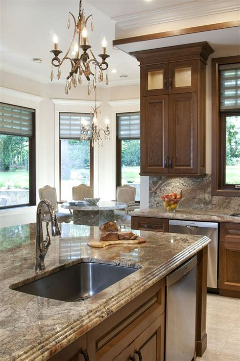 Matching Countertop And Backsplash by 1000 Ideas About Kitchen Granite Countertops On