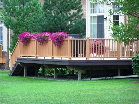 deck ideas ideas for patios decks using an automatic plant watering