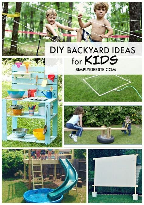 awesome backyards for kids diy backyard ideas for kids cubby houses awesome and decks