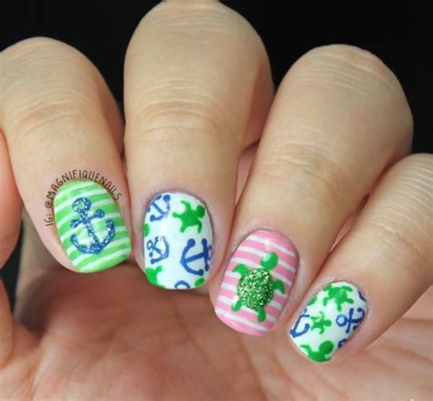 40 and cool anchor nail designs to try in 2016