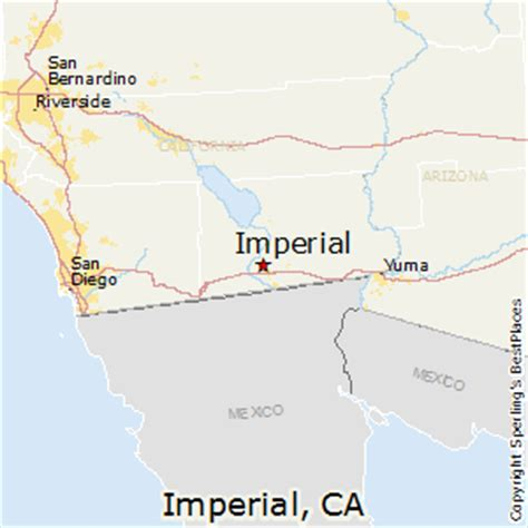 california map imperial valley best places to live in imperial california
