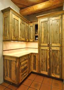 Rustic Pine Kitchen Cabinets by Colorado Beetle Kill Pine Kitchen Rustic Denver By