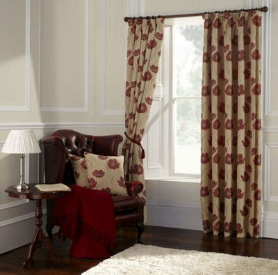 poppy curtains ikea red jacquard curtain homebase co uk