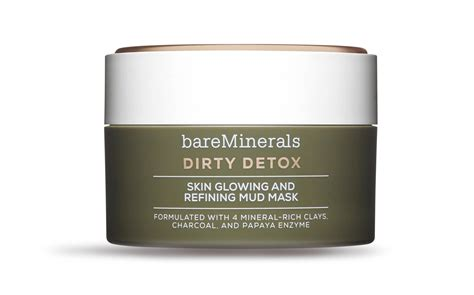 Detox Mud Mask Bare by Bareminerals Detox Skin Glowing And Refining Mud