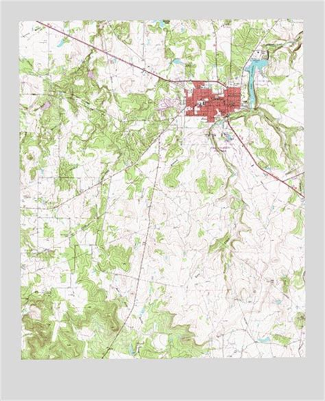 jacksboro texas map jacksboro tx topographic map topoquest