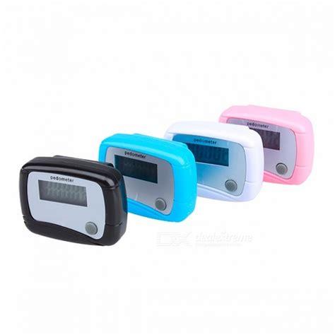 vivosmart reset step counter light weight sports lcd clip on step counter run walking