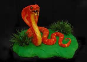 Cobra snake cake front flickr photo sharing