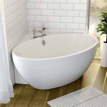 Small Bathtub Price Affine Fontaine Corner Freestanding Bath 1510mm X 935mm