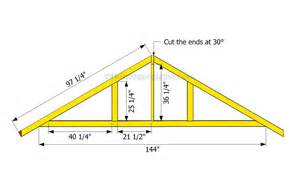 garage roof truss design how to build a garage roof howtospecialist how to