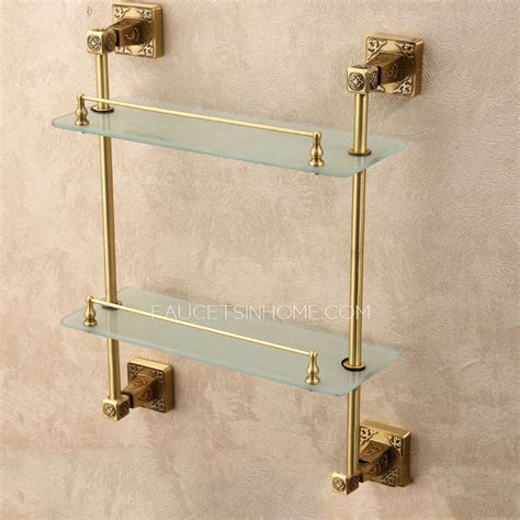 Brass Bathroom Shelves 31 New Brass Shelves Bathroom Eyagci
