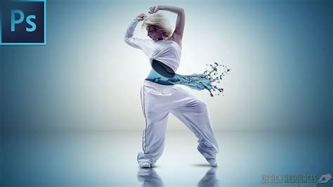 download tutorial dance keren aqua dance photo manipulation psd photoshop tutorial
