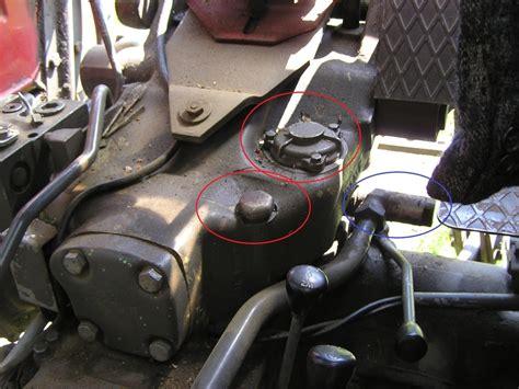 hydraulikoel wechsel bei steyr