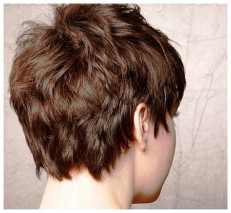 short hairstyles for fine hair back view back view of short hairstyles