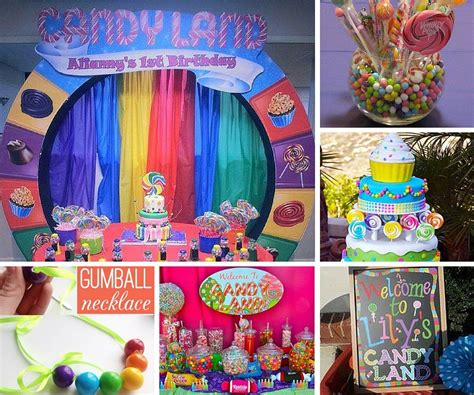 party themes original candyland party ideas kids party ideas at birthday in a box
