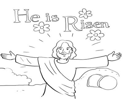 he is risen coloring page he has risen sheet coloring pages