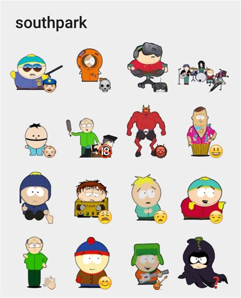 South Park Stickers
