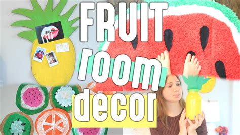 8 Fruity Inspired Accessories by Diy Summer Room Decor Fruit Inspired