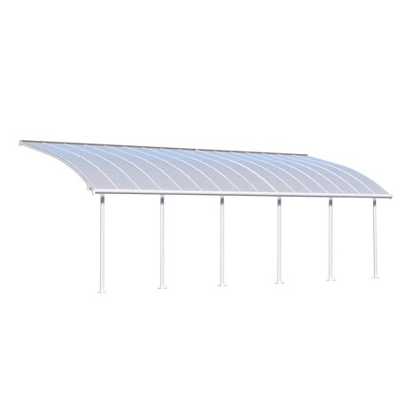 10 ft awning palram joya 10 ft x 30 ft white patio cover awning