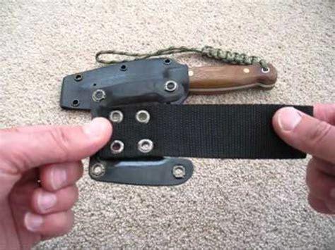 kydex sheath belt loop bushcraft kydex sheath update belt loop attachment