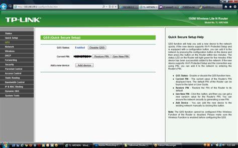 Modem Speedy Tp Link Wireless 2 qss setup wireless router яaihanmazumder