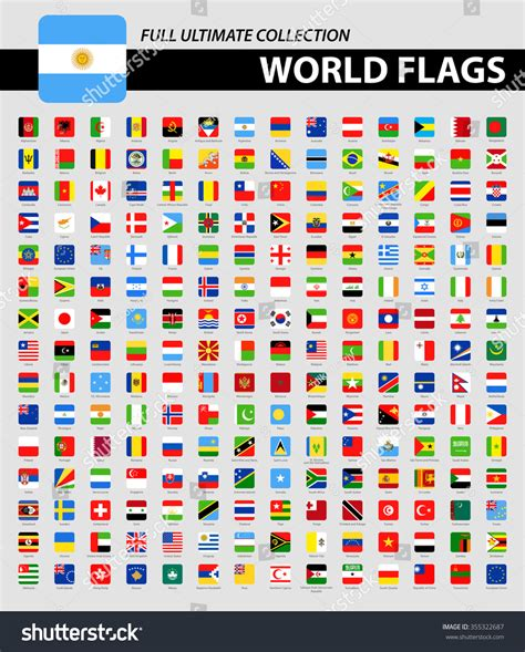 flags of the world ultimate square flags of the world full ultimate collection