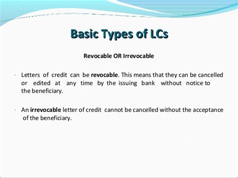 Philippines Credit Letter irrevocable letter of credit sle philippines 28 images